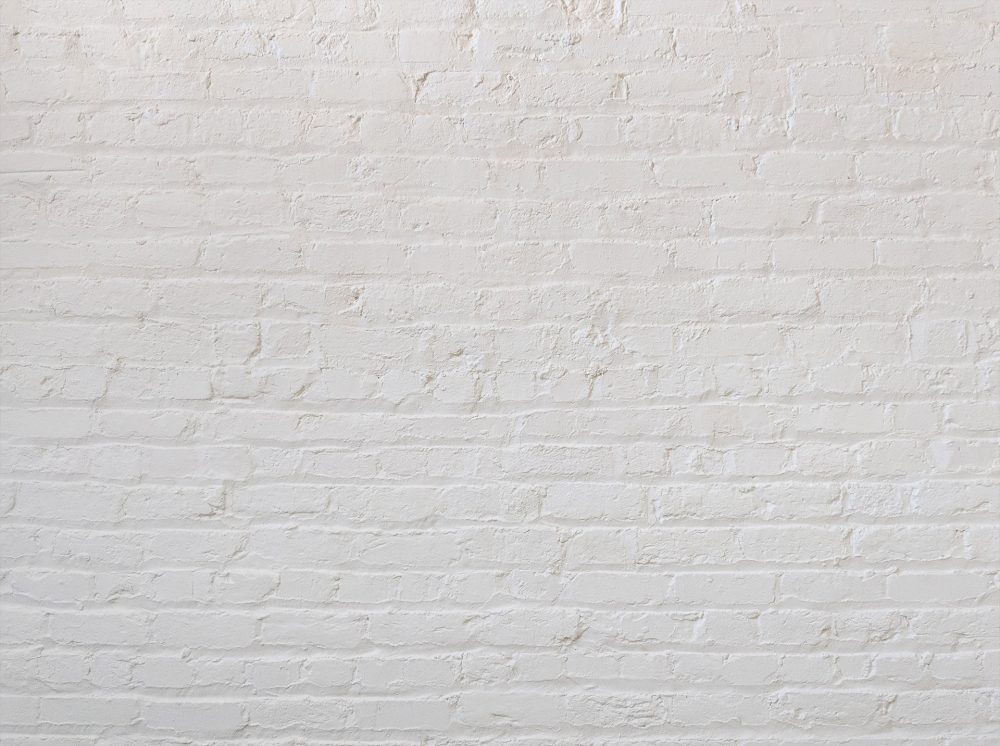 Painted White Brick - Full Video Call Backdrop - No Logo