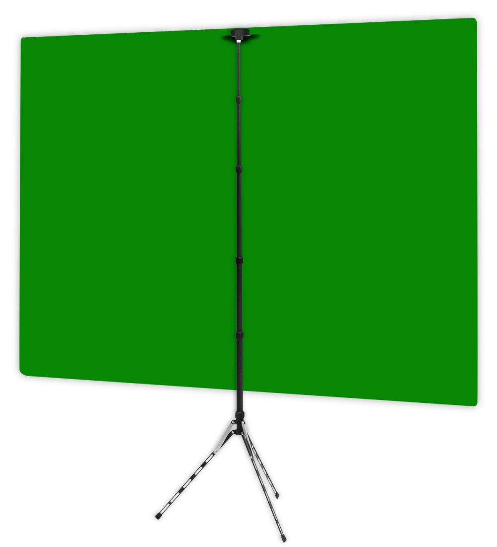 Green Screen - Back of Webcam Backdrop