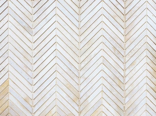 Subtle Whitewashed Chevron - Full Video Conference Background - No Logo