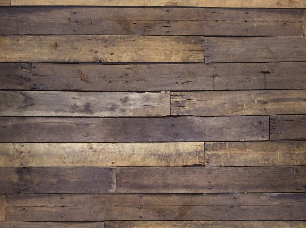 Rustic Wood Wall - Video Conference Background Design Full Image - No Logo
