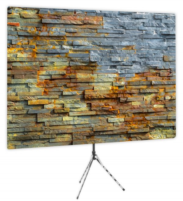 Bold Stacked Stone - Front of Webcam Backdrop - No Logo