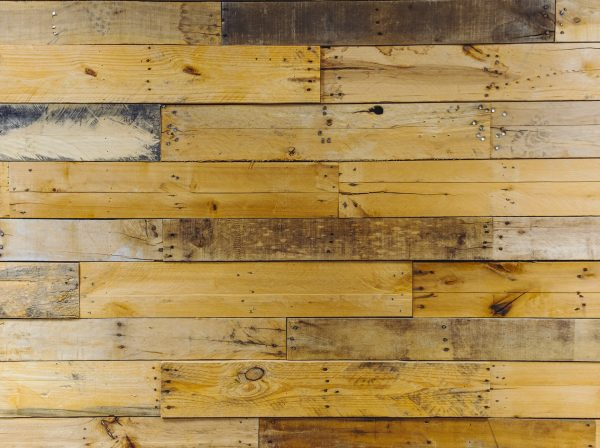 Chic Pallet Wall - Video Conference Background - No Logo