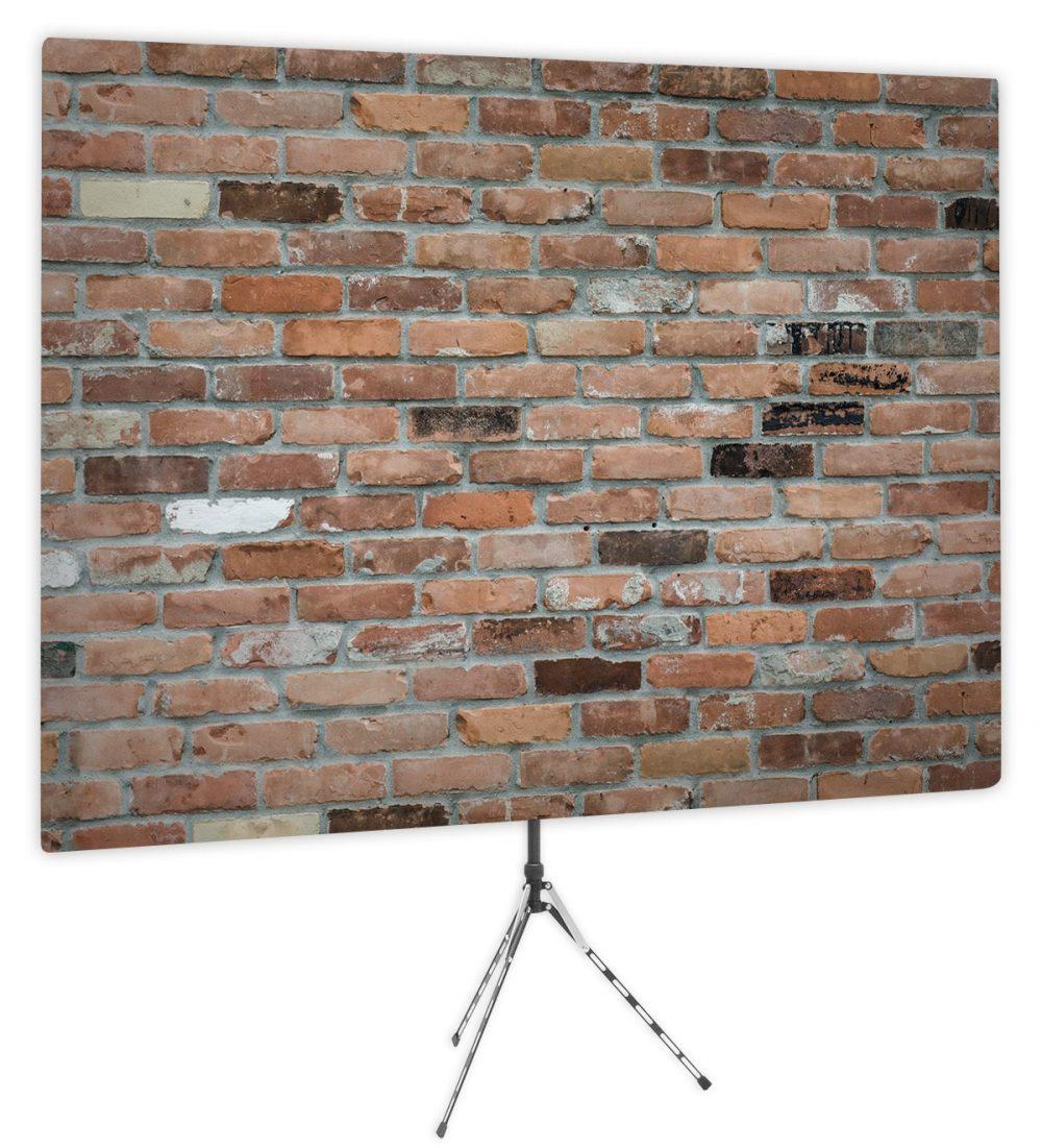 Downtown Loft Brick - Front of Webcam Backdrop - No Logo