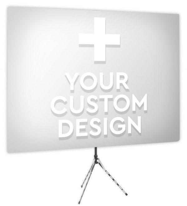 Your Custom Design - Front Webcam Backdrop