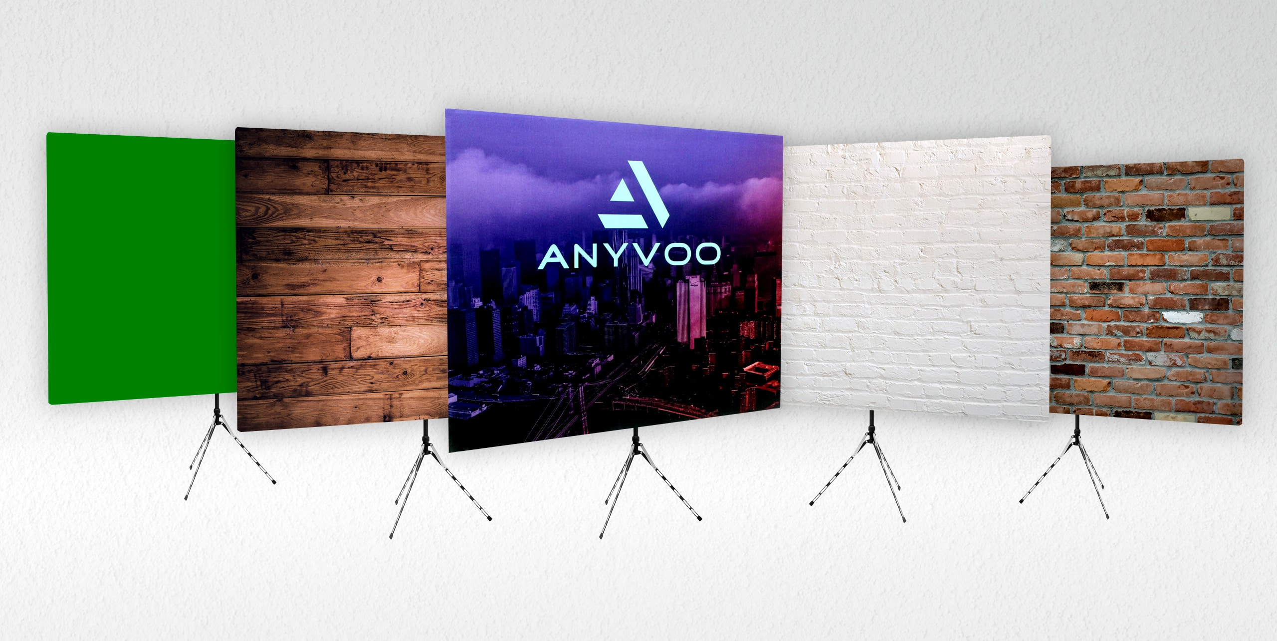 Configure Your Anyvoo Webcam Backdrop