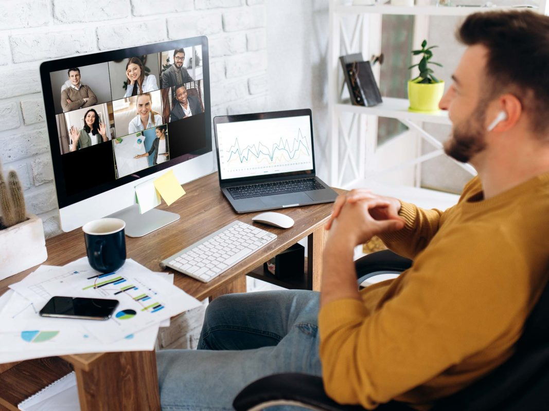 Home Office Video Conference Backgrounds: 9 Anyvoo Examples