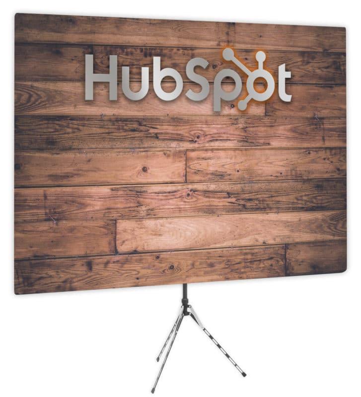 HubSpot backdrop