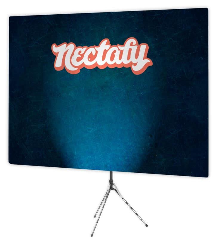 Nectafy backdrop