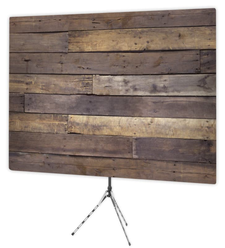 Rustic wall backdrop