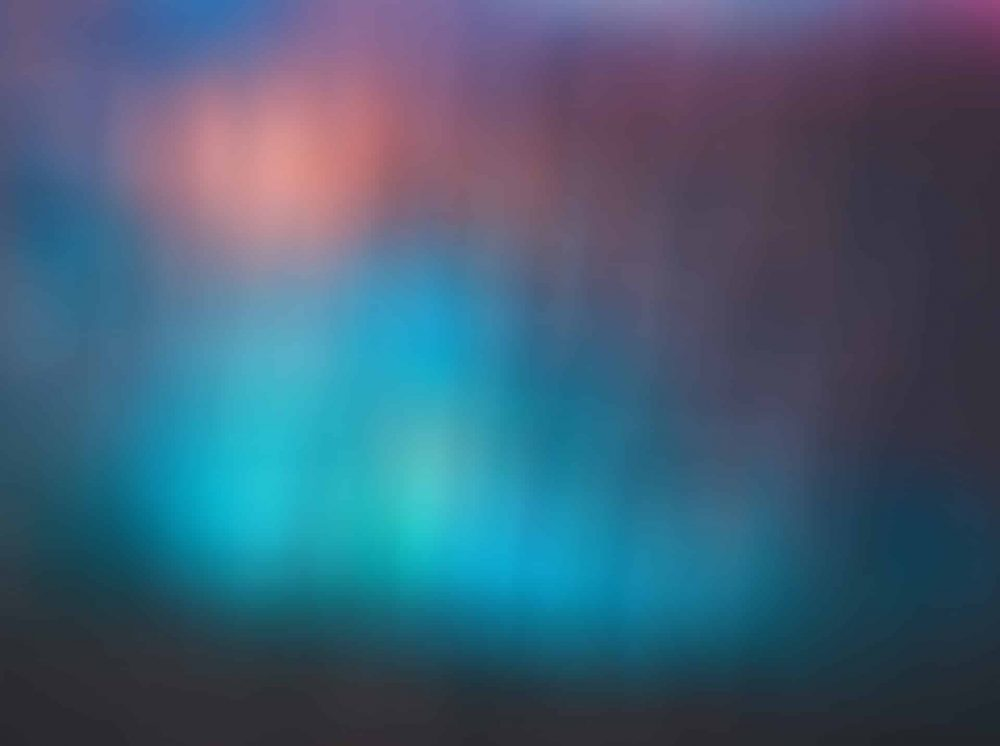 Aurora Blur - Bokeh Webcam Backdrop