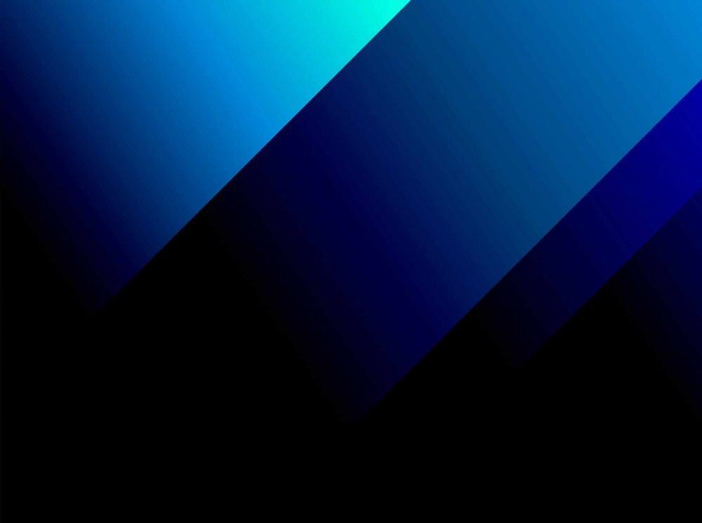 Blue Bold Angle Webcam Backdrop