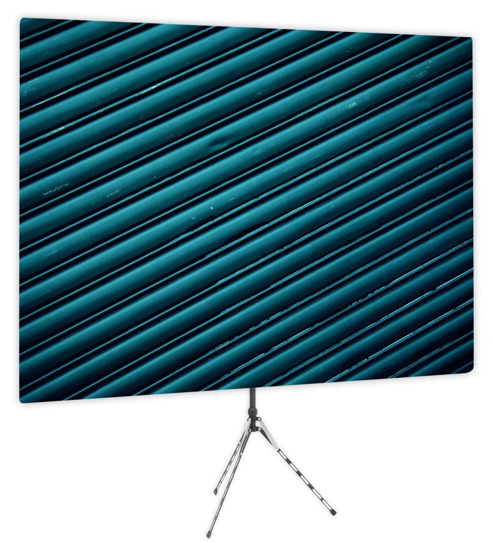 Blue Ridges - Webcam Backdrop - Side 1