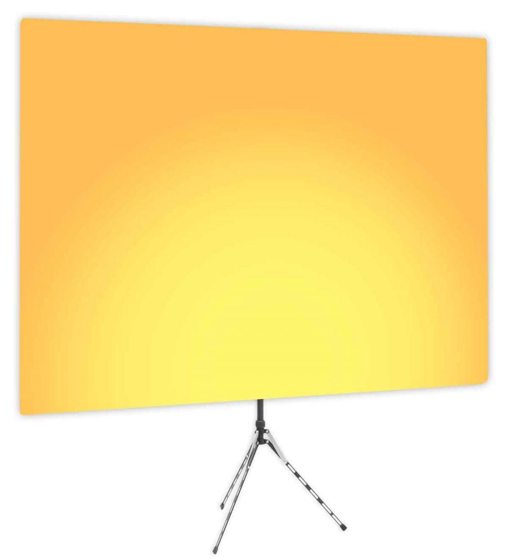 Clementine Uplight - Gradient Webcam Backdrop - Side 1