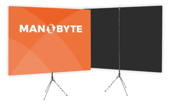 customized video conference screen - Manobyte