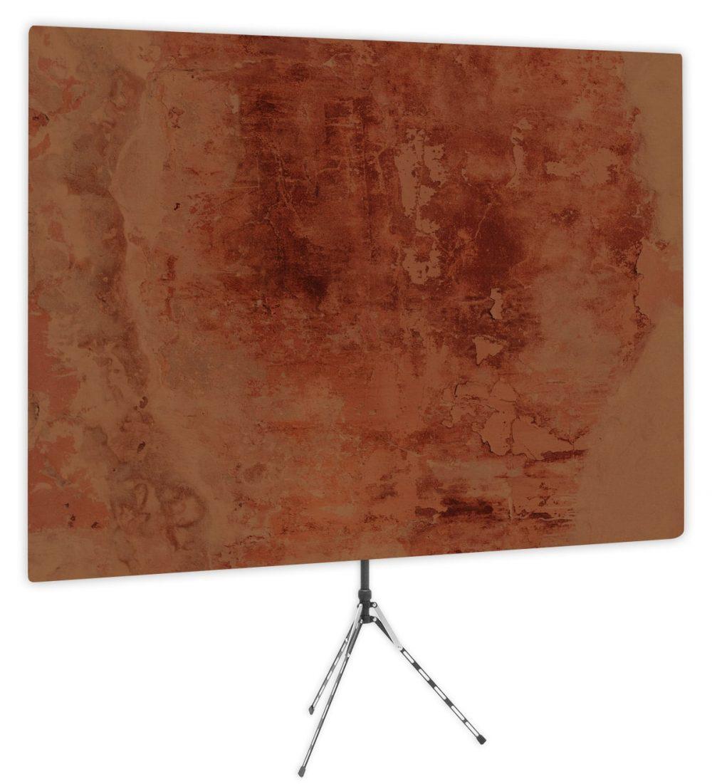Earthtone Masterpiece - Brown Webcam Backdrop - Side 1