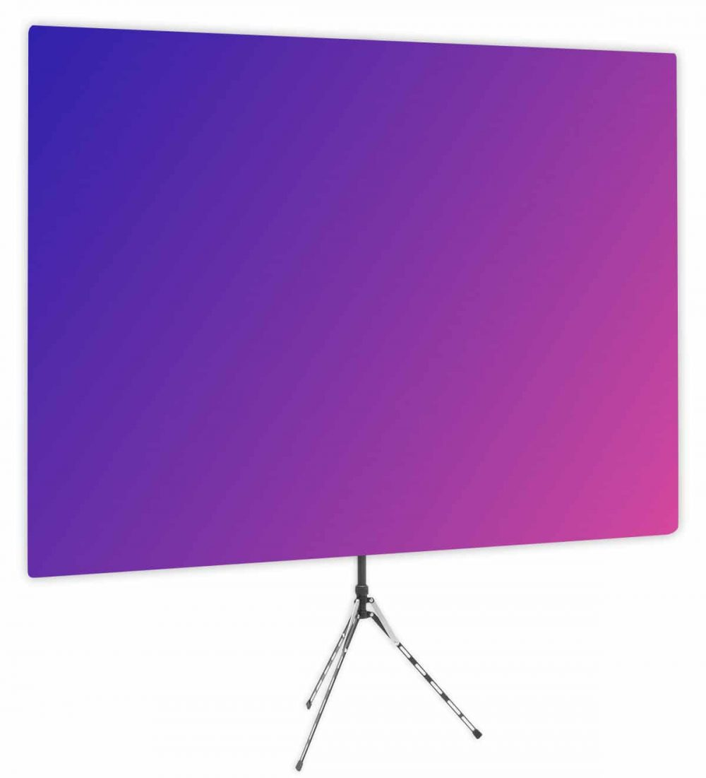 Eighties Glow - Pink Purple Gradient Webcam Backdrop - Side 1