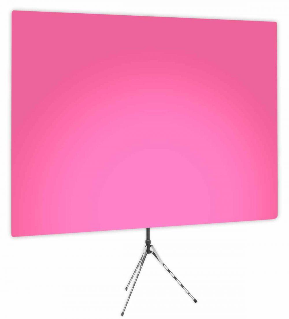 Fuscia Glow Uplight - Pink Gradient Webcam Backdrop - Side 1