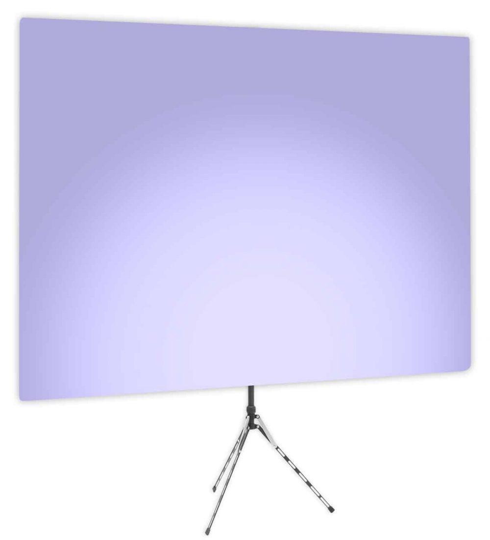 Hosta Blossom Uplight - Lavender Gradient Webcam Backdrop - Side 1