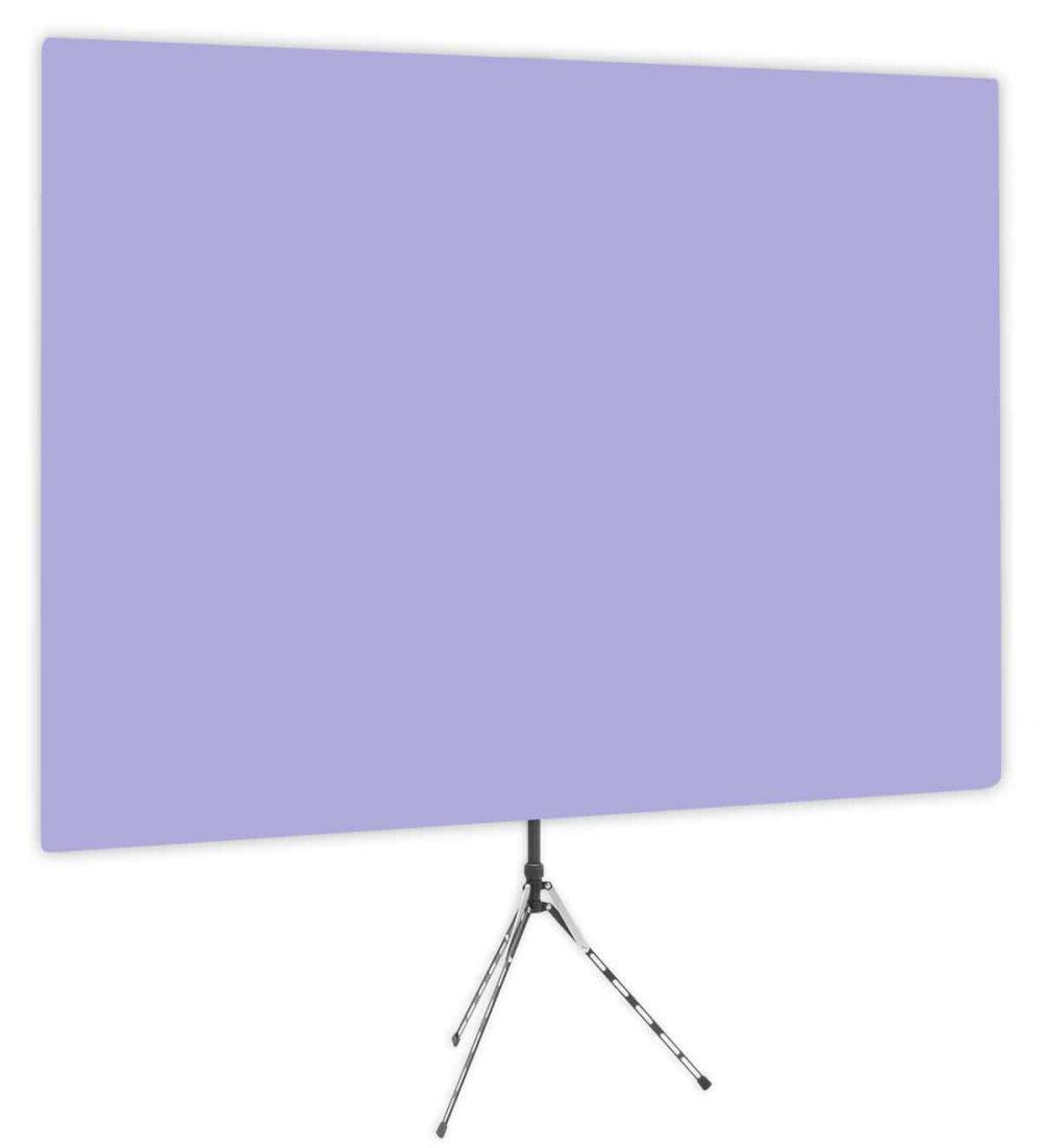 Hosta Blossom - Solid Lavender Webcam Backdrop - Side 1