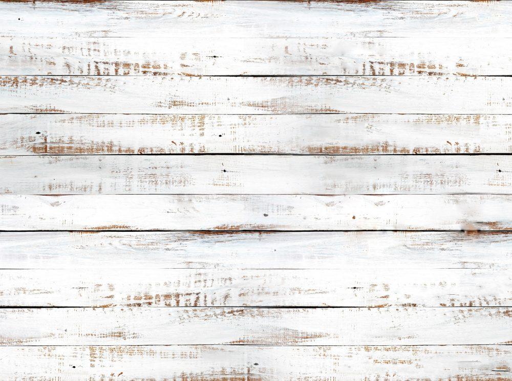 Shiplap White Wood Backdrop - Full Image