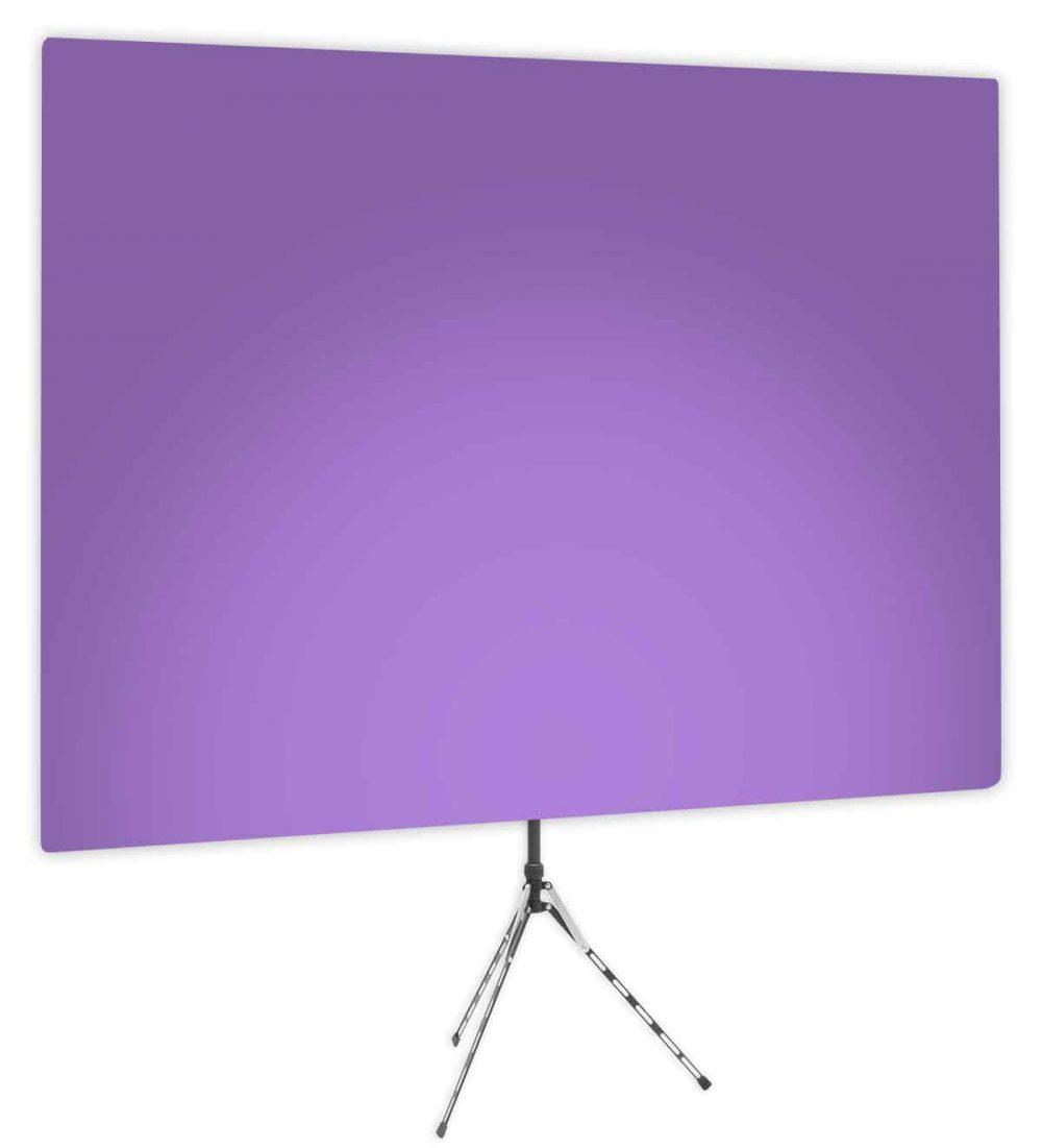 Purple Rhyme Uplight - Purple Gradient Webcam Backdrop - Side 1