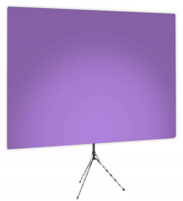 Purple Rhyme Uplight - Purple Gradient Webcam Backdrop - Side 1