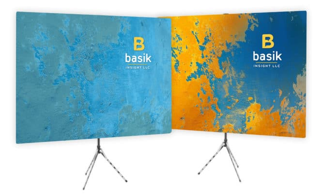 bright textured wall zoom background - Basik Insight