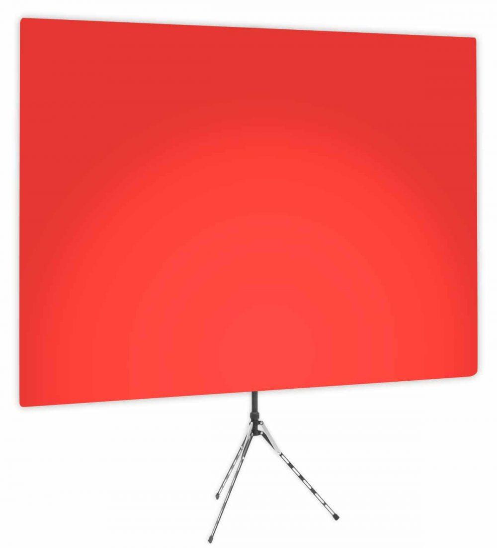 Wrangler Red Uplight - Red Gradient Webcam Backdrop - Side 1