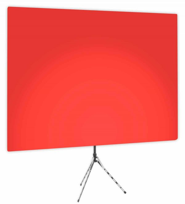 Wrangler Red Uplight - Red Gradient Webcam Backdrop - Side 1