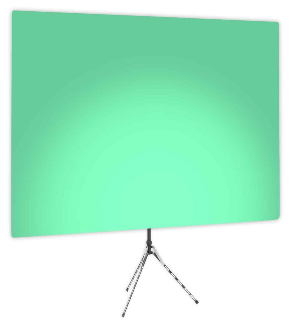 Zen Effect Uplight - Green Gradient Webcam Backdrop - Side 1