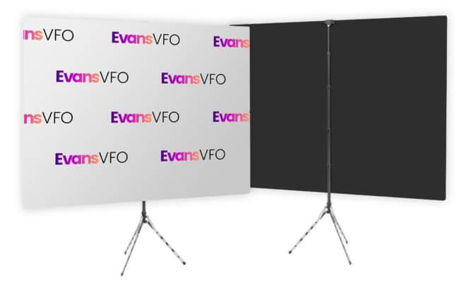 step-repeat-logo-gray-background-backdrop-evans